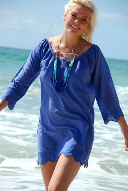 Shell Tunic - Periwinkle / S - Apparel