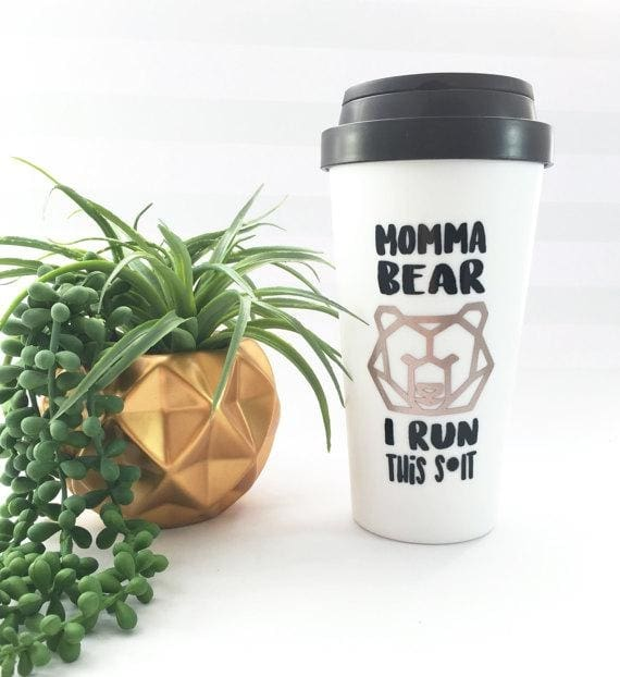 The Golden Type - Momma Bears I Run This Sh*t Coffee Mug