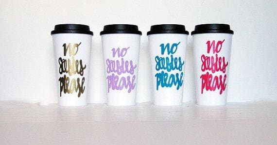 The Golden Type - Mommys Happy Juice Travel Mug