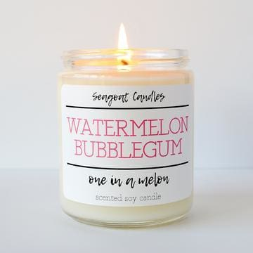 Watermelon Bubblegum - One In A Melon - Default - Candles