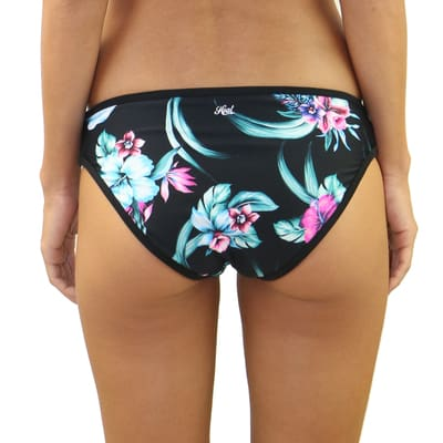 Wild Flower Strappy Side Bottom - Swimwear