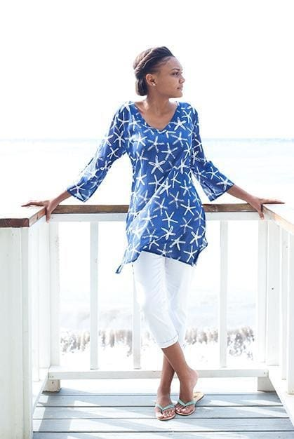 Wishes Cotton Beach Tunic - Apparel