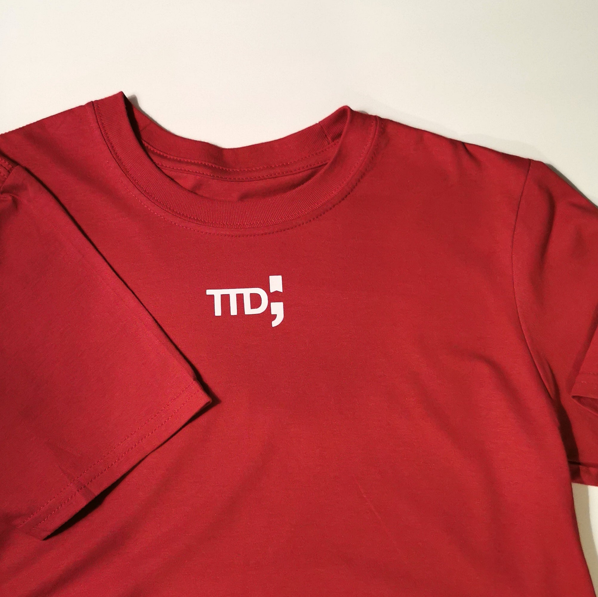 The Bold Deep Red T