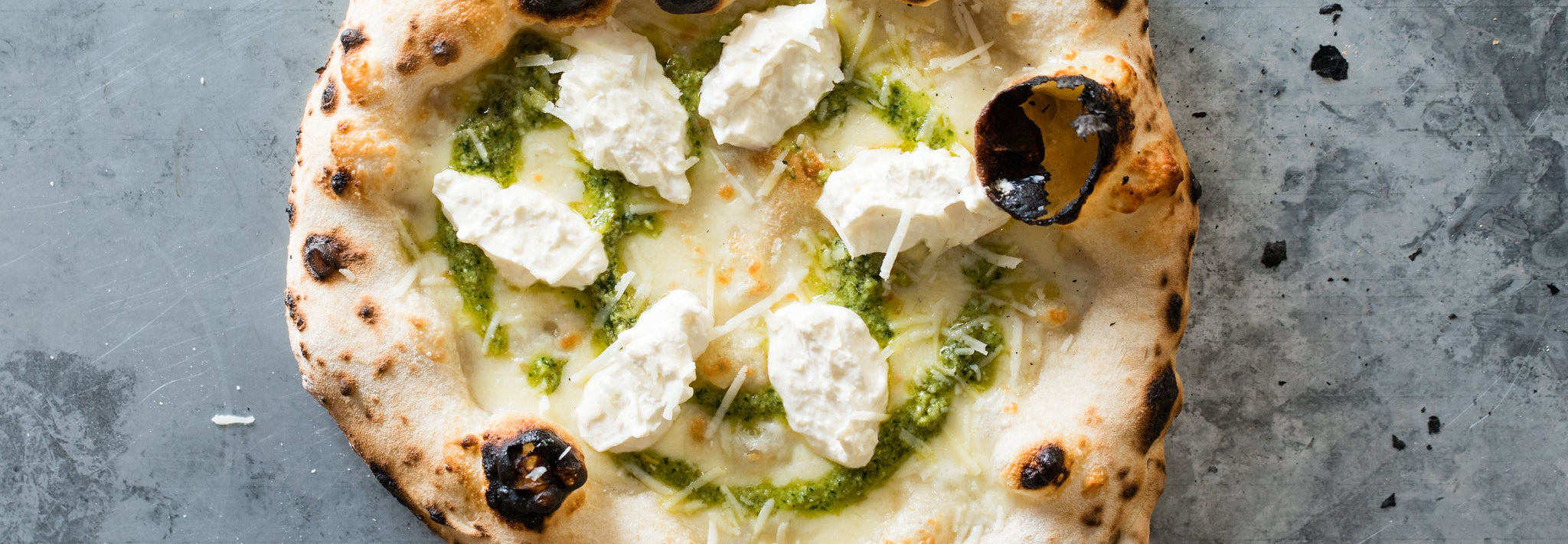 Jalapeno Pesto Pizza by Mike Fitzick