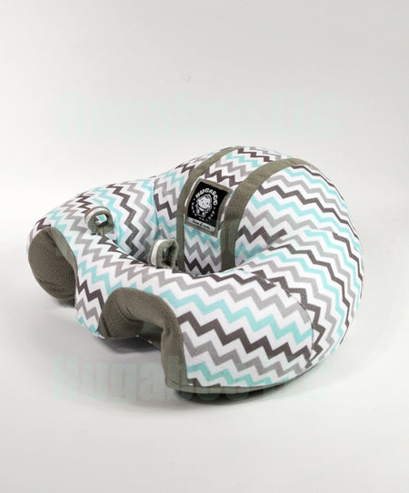 Infant Sitting Chair - Blue N' Green