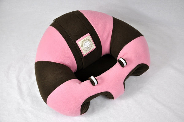 Infant Sitting Chair - Pink N' Mocha