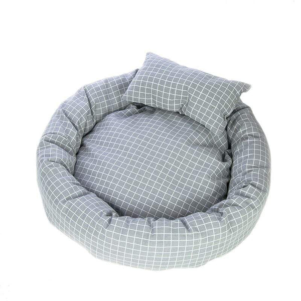 Round Shape Ultra Soft Pet Bed - Dogs and Cats Boutique