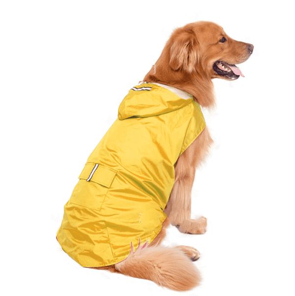 Reflective Two-Legged Dog Raincoat Poncho - Dogs and Cats Boutique
