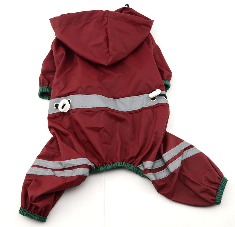 Raincoat With Reflective Stripes for Dogs - Dogs and Cats Boutique