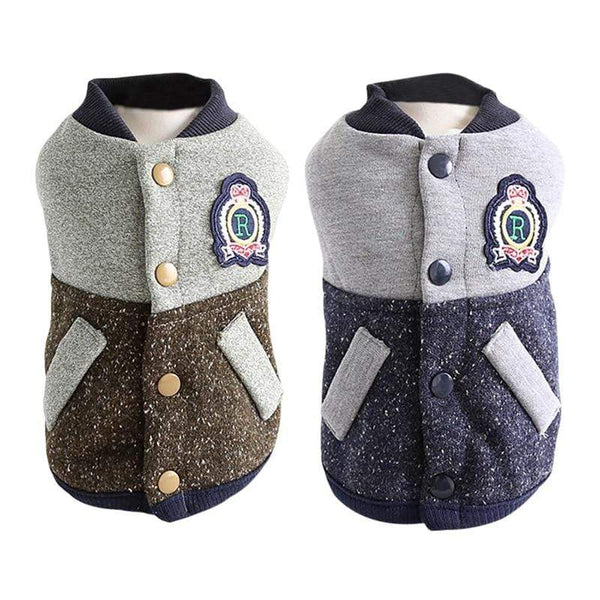 Baseball Dog Coat - Dogs and Cats Boutique