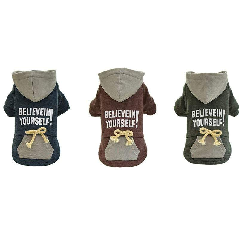 Believe In Yourself Dog Coat - Dogs and Cats Boutique