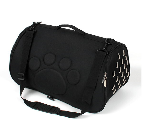 Embossed Paw Dog Carrier - Dogs and Cats Boutique