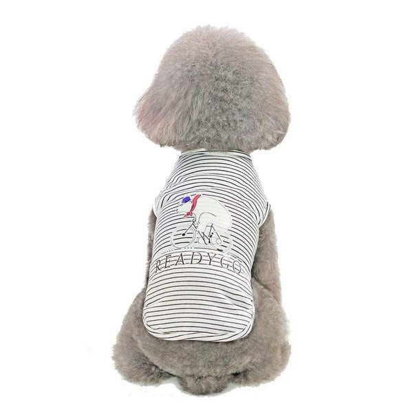 Comfortable breathable pet t-shirt - Dogs and Cats Boutique