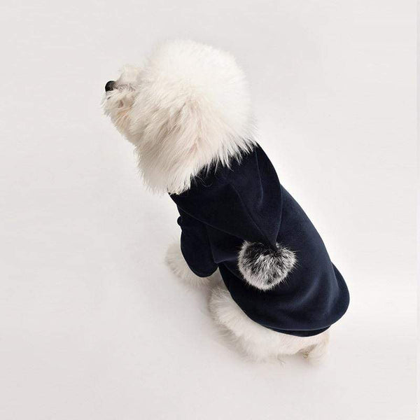 Pompom Warm Dog Hoodie - Dogs and Cats Boutique