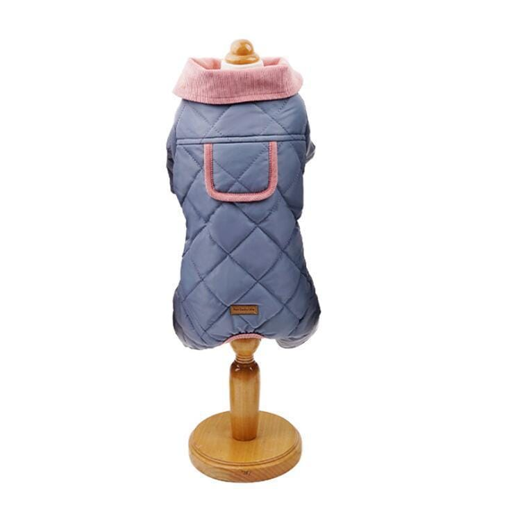 Diamond Lattice Padded Dog Jacket - Dogs and Cats Boutique