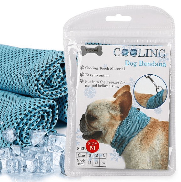 Cooling Bandana Scarf for Dogs - Dogs and Cats Boutique