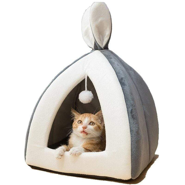 Rabbit Ears Cat House Bed - Dogs and Cats Boutique