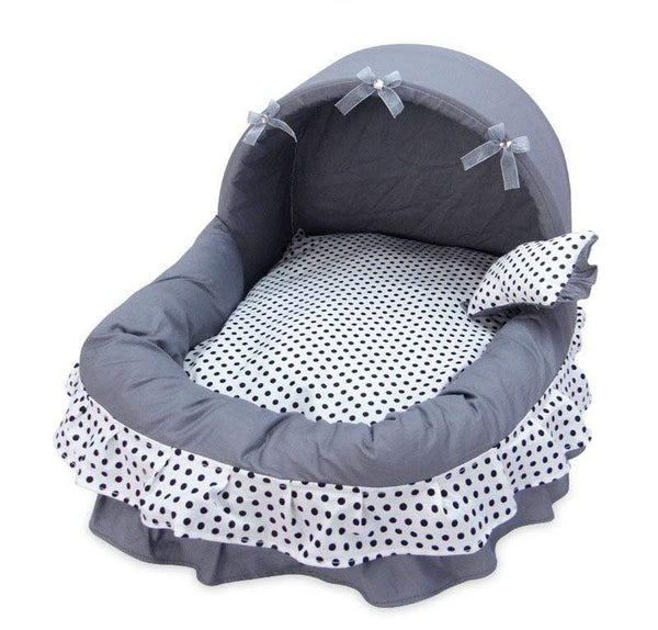 Princess Basket Style Pet Bed - Dogs and Cats Boutique