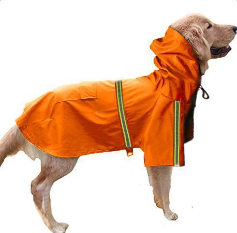 Reflective Waterproof Dog Raincoat - Dogs and Cats Boutique