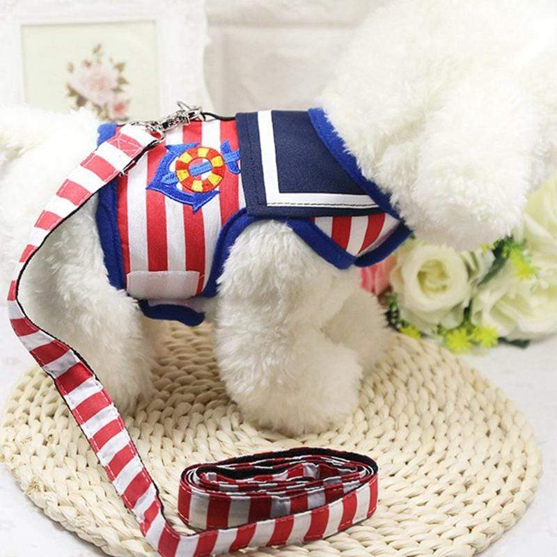 Multi Striped Dog Walking Harness - Dogs and Cats Boutique