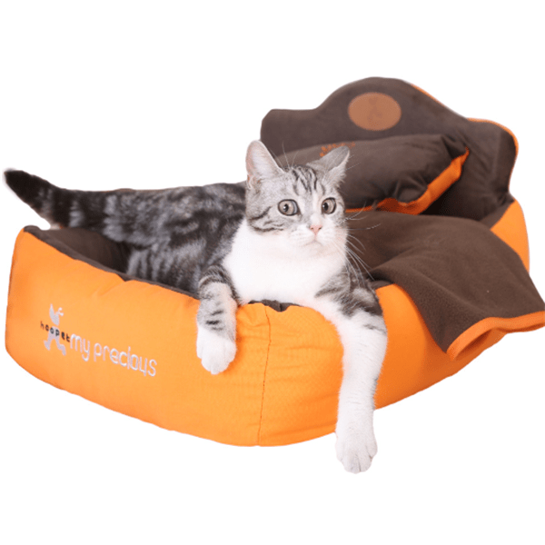 Luxury 3-Piece Pet Bed Set - Dogs and Cats Boutique