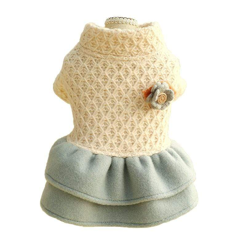 Pet Woolen Dress - Dogs and Cats Boutique