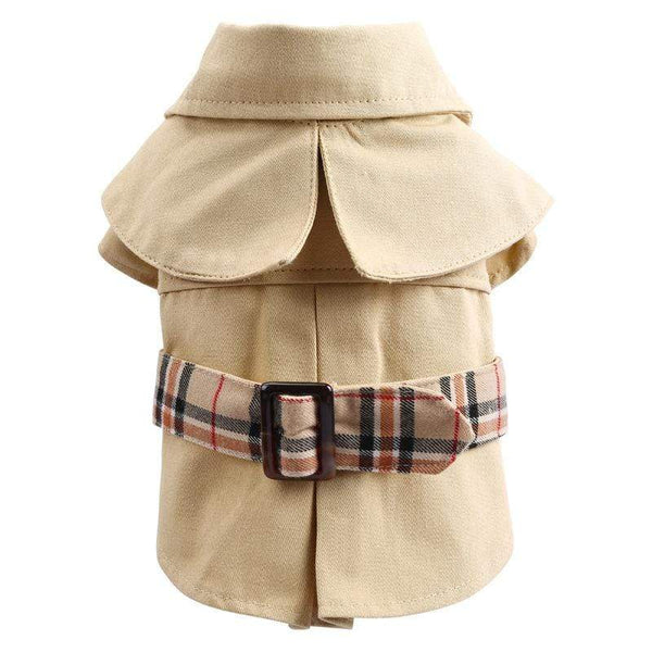 Detective Style Dog Coat - Dogs and Cats Boutique