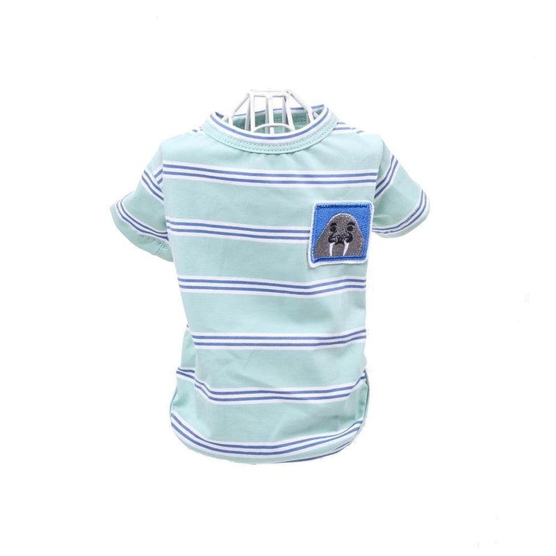 Bear Striped Pet T-Shirt - Dogs and Cats Boutique