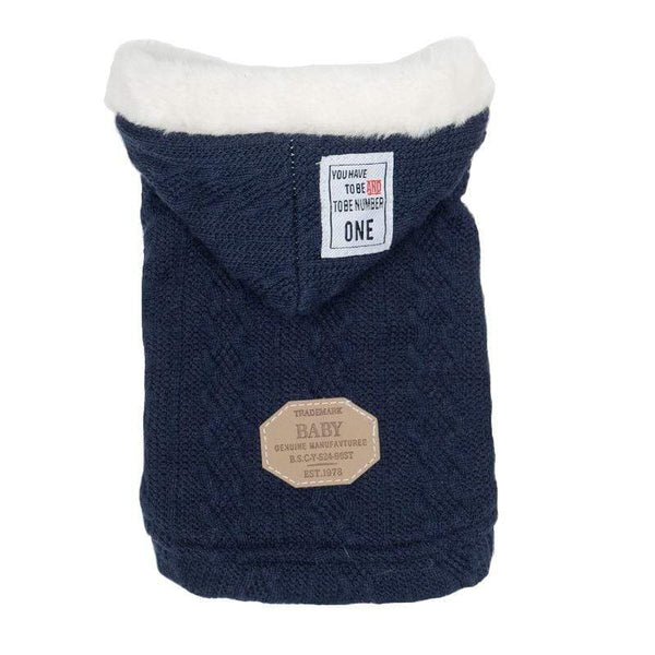 Thick Warm Hooded Dog Sweater - Dogs and Cats Boutique