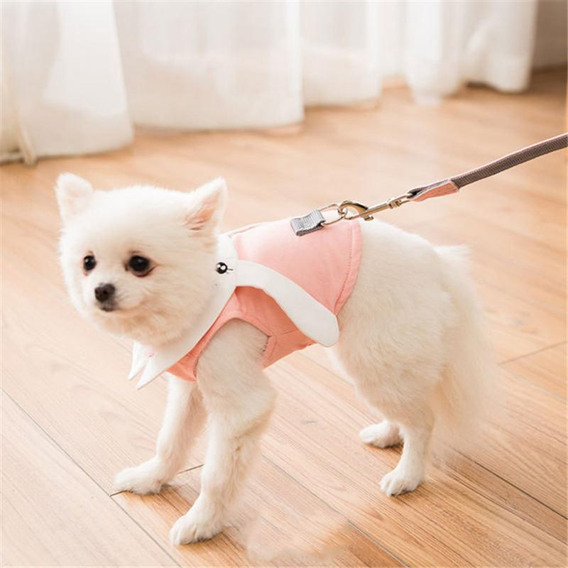 Pink Rabbit Harness Set - Dogs and Cats Boutique