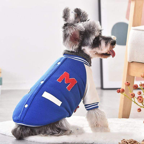Two-legged Short-sleeved Cotton Dog Coat - Dogs and Cats Boutique