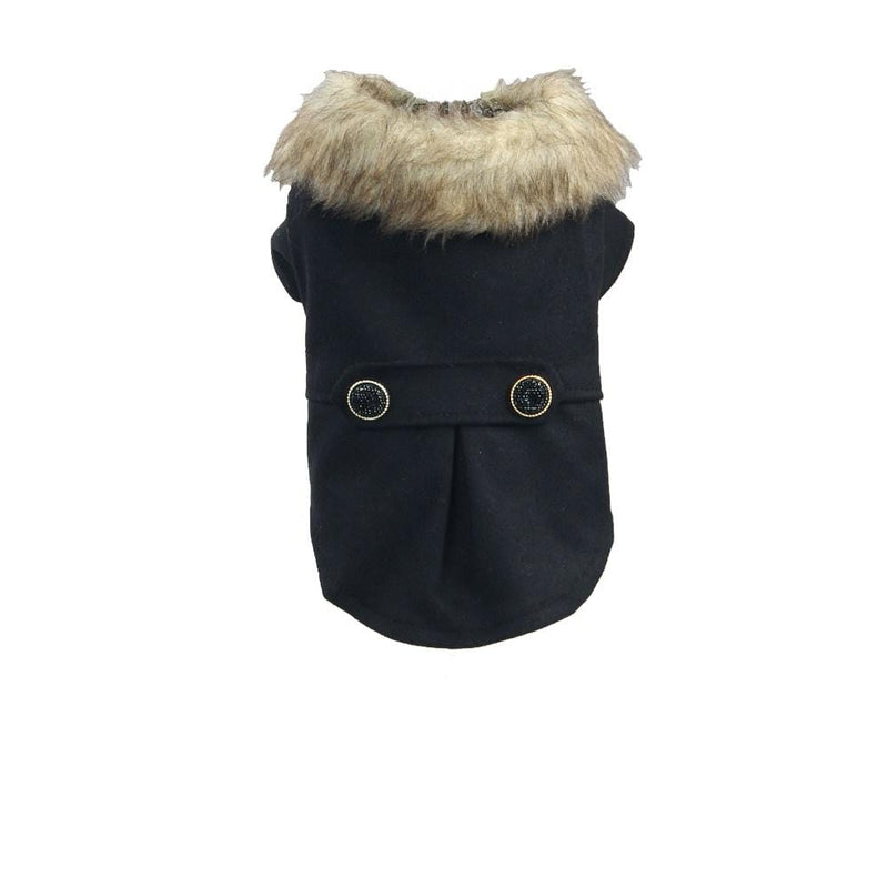 Fur Winter Dog Coat - Dogs and Cats Boutique