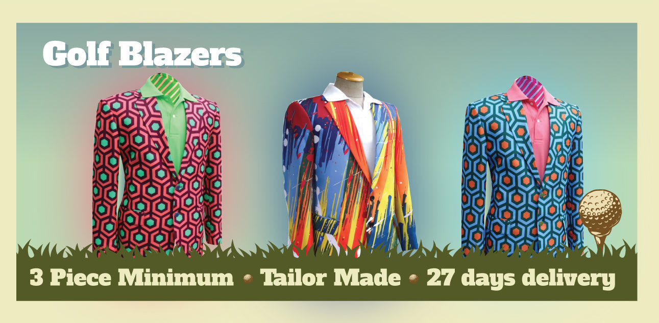 Custom Golf Blazers - USA Golf Blazers - Team Blazers