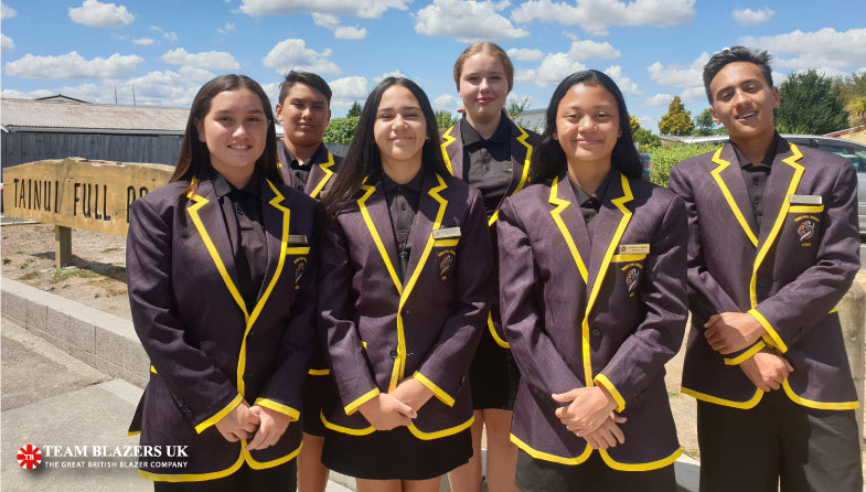 Tainui School Custom Blazers - Team Blazers