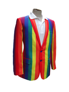 LGBT Pride Golf Blazer | Rainbow Golf Blazer | Team Blazer
