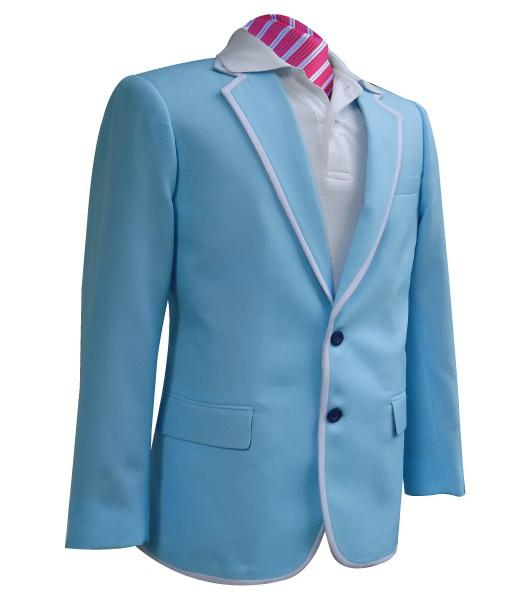 Sky Blue Gatsby Golf Blazer | Team Blazers