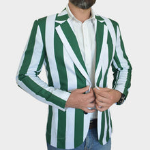 Load image into Gallery viewer, Benetton Rugby Blazer | Team Blazer | Closed View