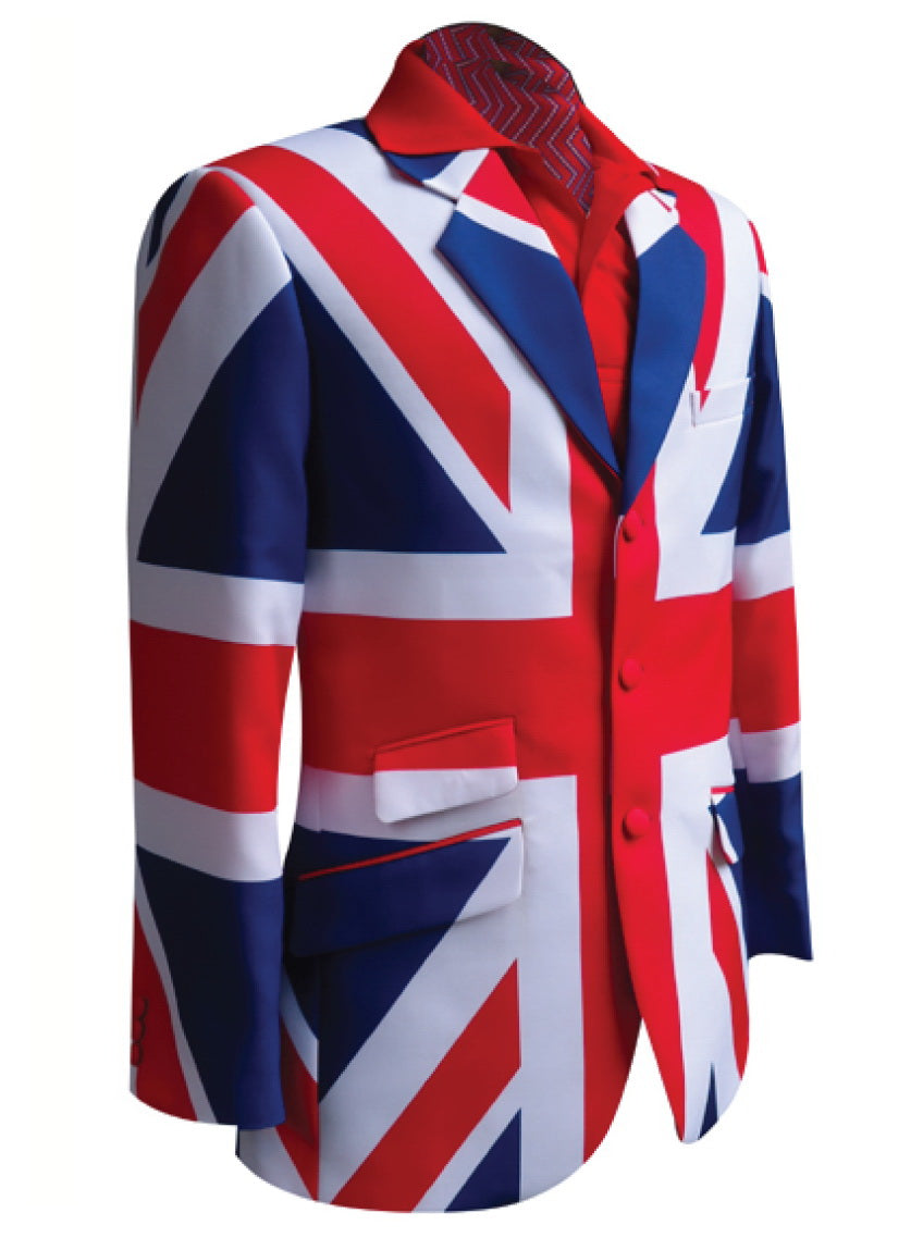British Pride Golf Blazer | British Flag Golf Blazer | Team Blazer