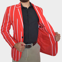 Load image into Gallery viewer, Scarlets Rugby Blazers | Team Blazers | Relaxed Front