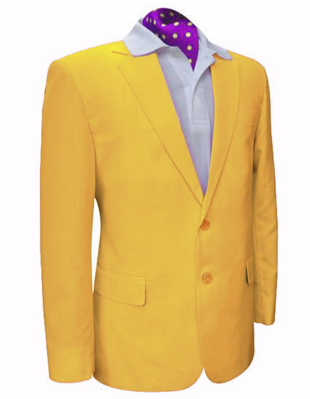 Yellow Gatsby Golf Blazer | Team Blazers