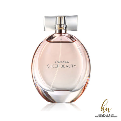 Sheer Beauty By Calvin Klein - HeartNote&Co.