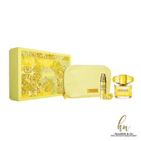 For Her: Versace Yellow Diamond Gift Set - HeartNote&Co.