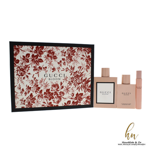 For Her: Gucci Bloom Gift Set - CosmeticsWarehouseOutlet&Perfumery.