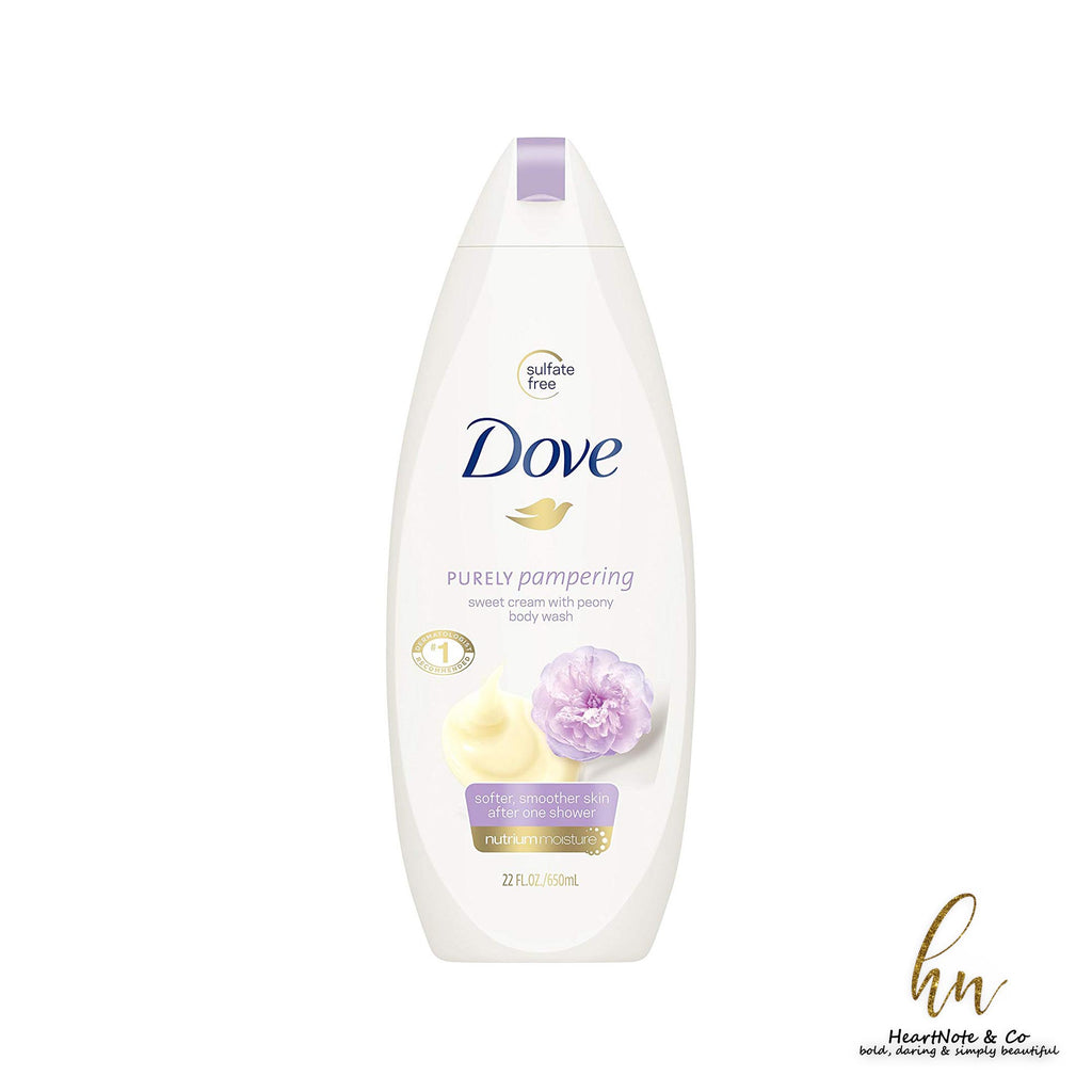 DOVE MOSITURISING CREAM SHOWER GEL - HeartNote&Co.
