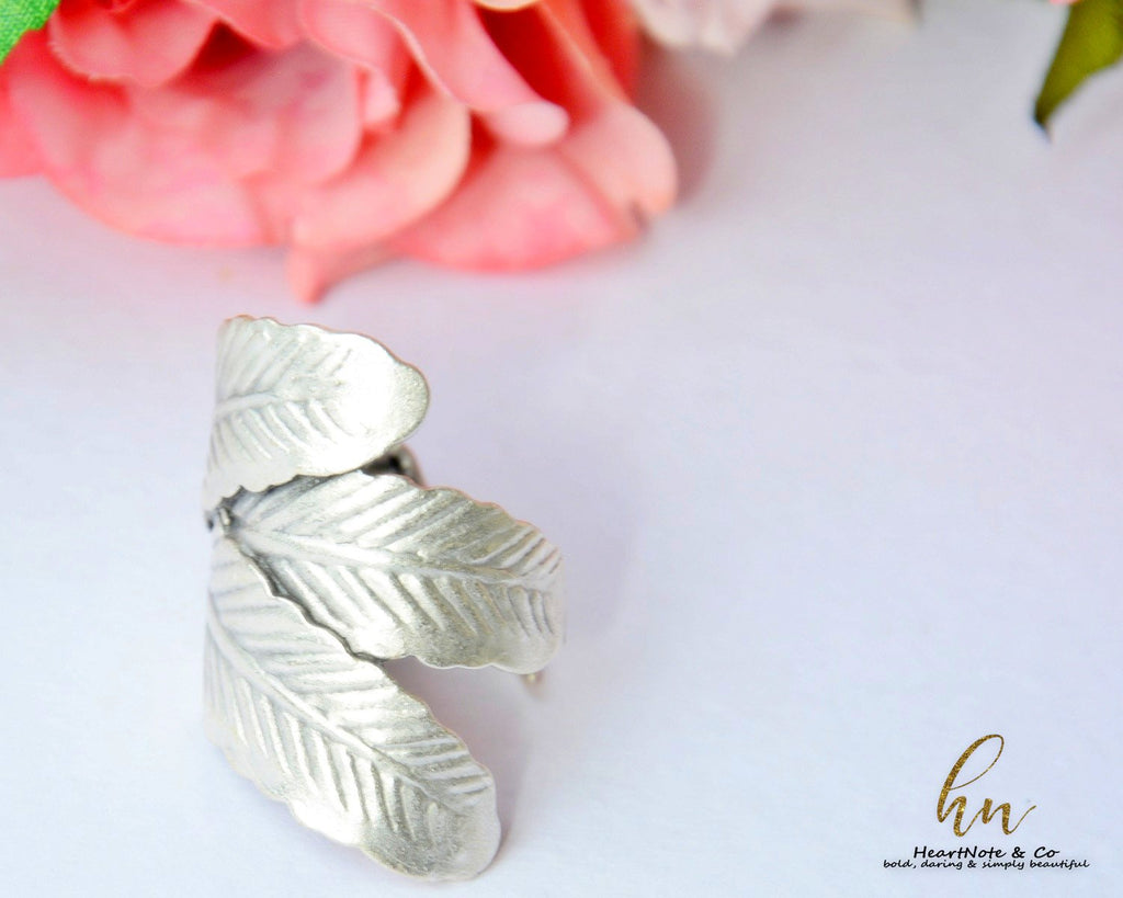 Autumn Leaves Ring - HeartNote&Co.