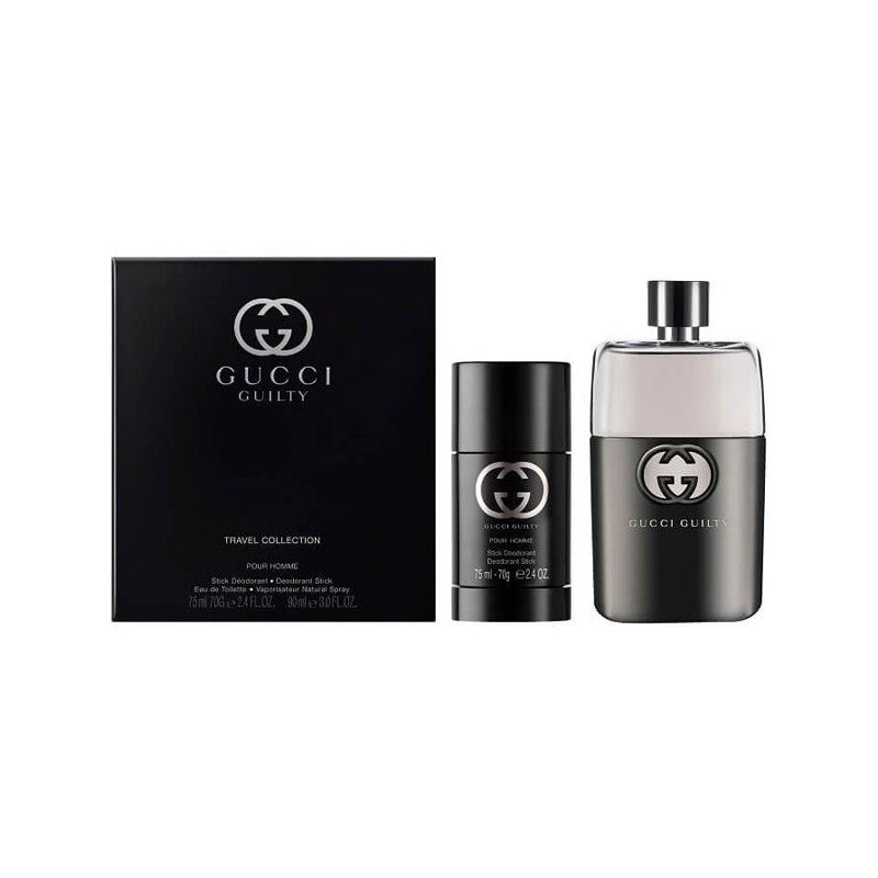 For Him: Gucci Guilty Eau de Toilette Gift Set - HeartNote&Co.