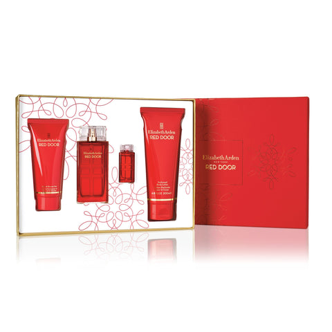 For Her: Red Door 4 Pc Gift Set - CosmeticsWarehouseOutlet&Perfumery.