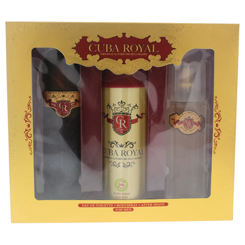 For Him: Cuba Royale Gift Set for Men - CosmeticsWarehouseOutlet&Perfumery.