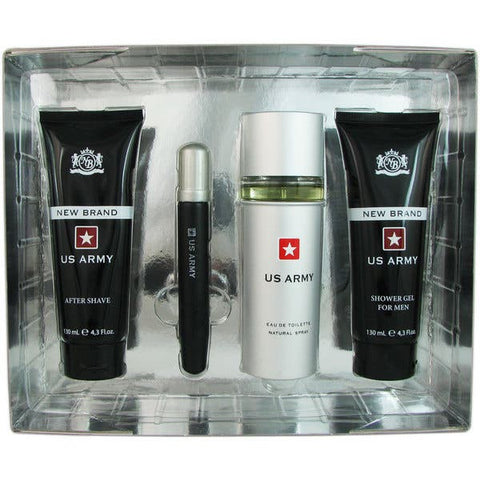 For Him: New Brand US Army Men's 4-piece Gift Set - CosmeticsWarehouseOutlet&Perfumery.
