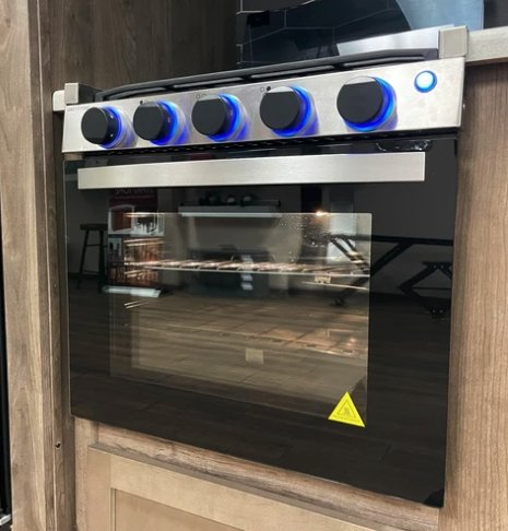 "17"" Greystone Range Oven CF-RV17 Stove LP Gas Ignition Glass Cover 